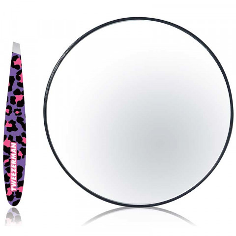 Fashion Leopard Mirror & Mini Slant Duo