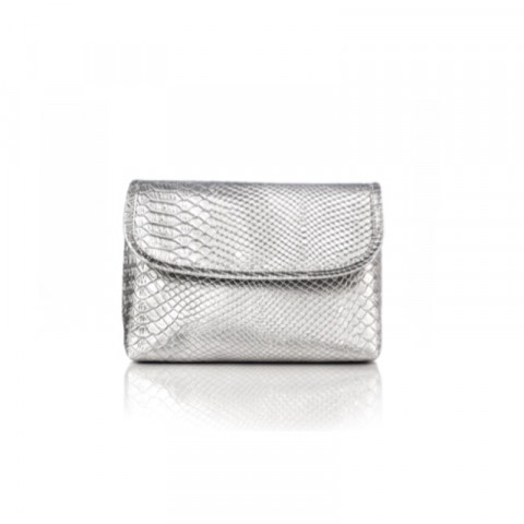 VENeffect Silver Custom Cosmetic Bag