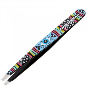 Aztec Eye Slant Tweezer