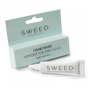 Clear/White Adhesive for Strip Lashes