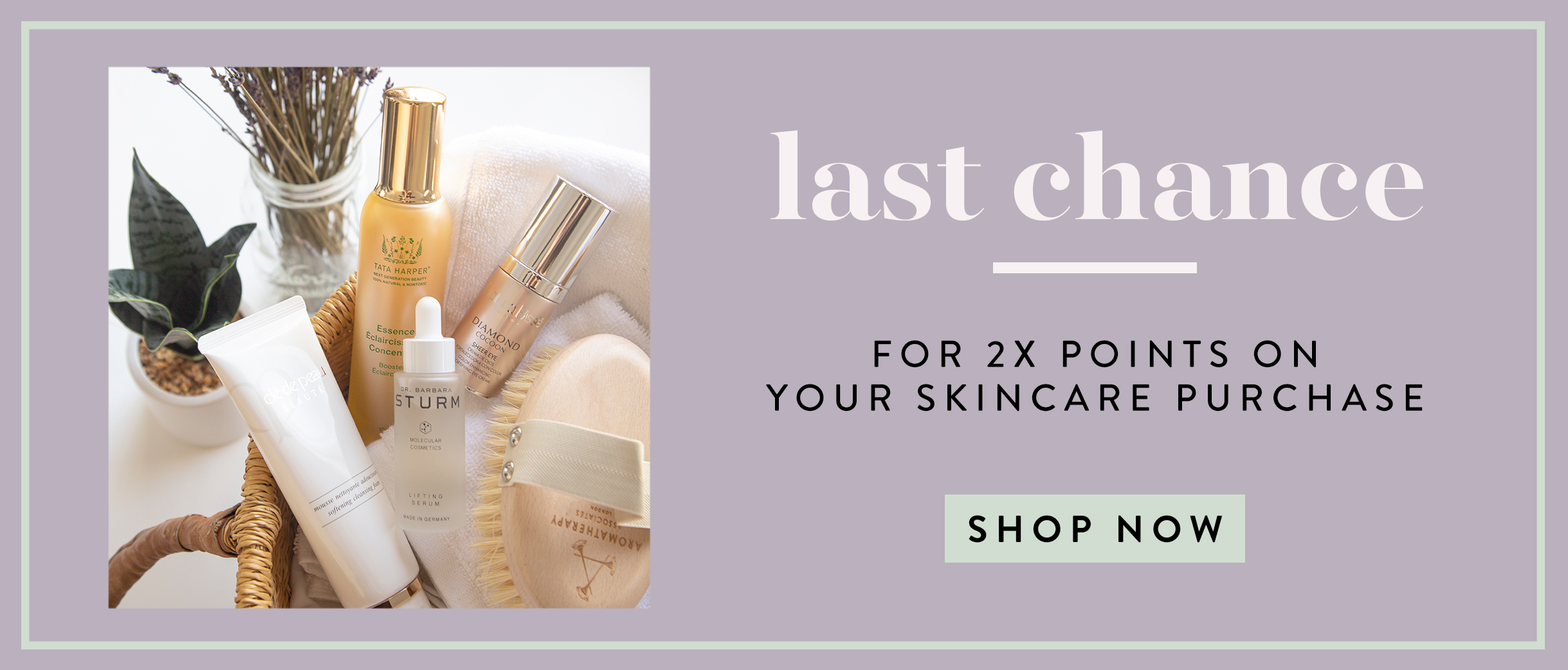 HP: Skincare 2X Points Final Hours