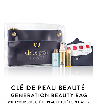 Cle de Peau Beaute generation beauty bag